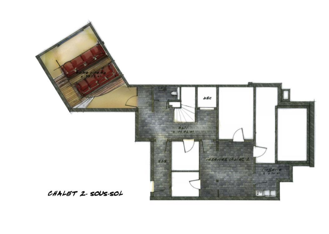 chalet chene luxury chalets hotel la mourra val d 39 is re. Black Bedroom Furniture Sets. Home Design Ideas