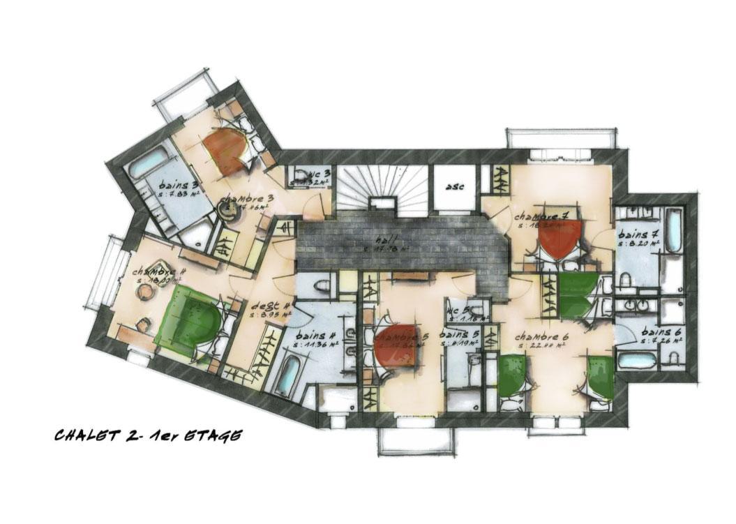 chalet ch ne chalets de luxe h tel la mourra val d 39 is re. Black Bedroom Furniture Sets. Home Design Ideas